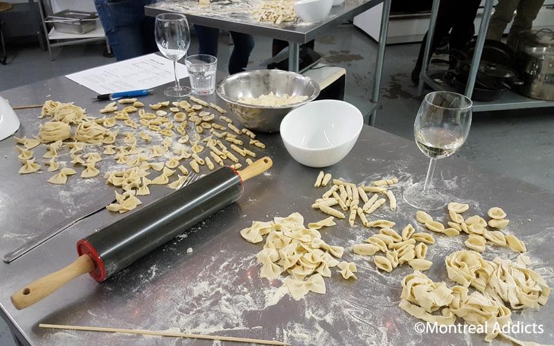 Atelier de pâtes fraiches Parler la bouche pleine | Montreal Addicts