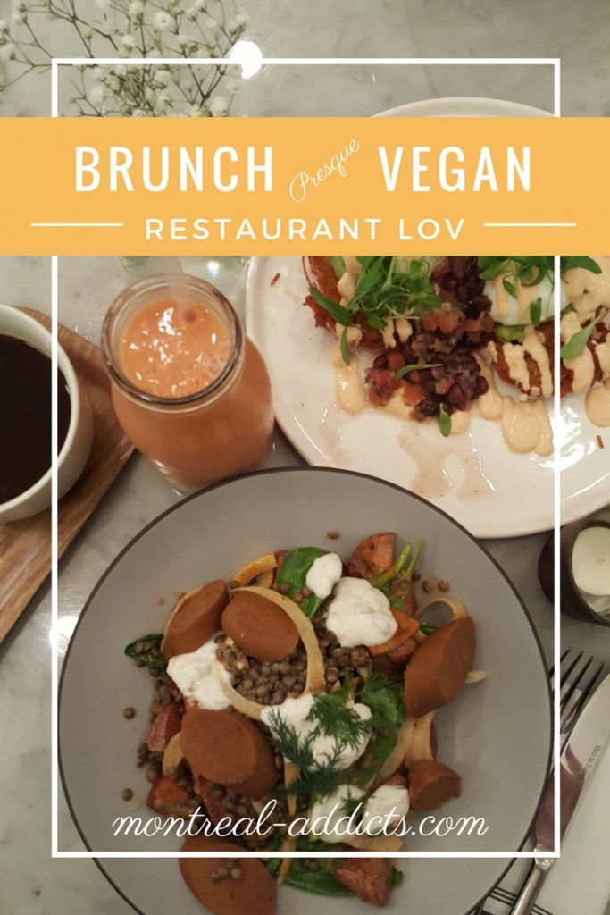 Brunch vegan Montreal