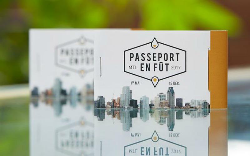passeport en fut 2017 Montreal