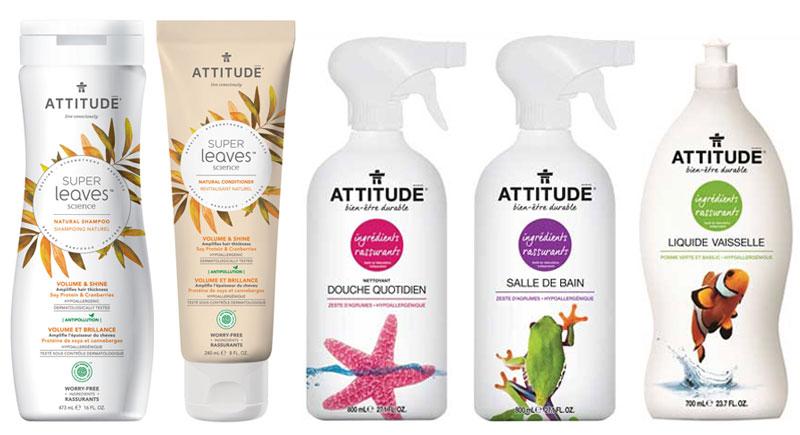 Produits naturels ATTITUDE | Blog Montreal Addicts