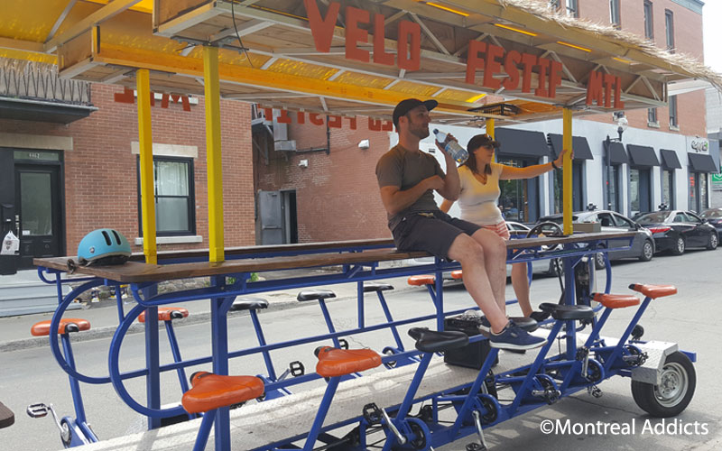 Vélo Festif Montréal | Blog Montreal Addicts