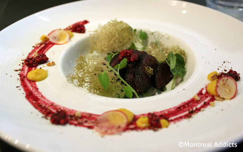 Loup marin au Caribou Gourmand | Blog Montreal Addicts
