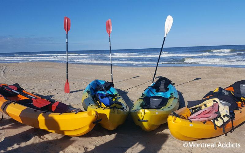 Kayak en mer avec Chesapean Outdoors à Virginia Beach | Blog Montreal Addicts