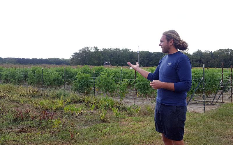 Kevin Jamison de New Earth Farm Virginia Beach Blog Montreal Addicts