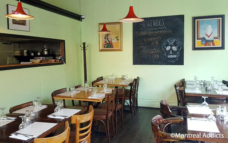Menu dégustation du restaurant mexicain La Selva | Blog Montreal Addicts