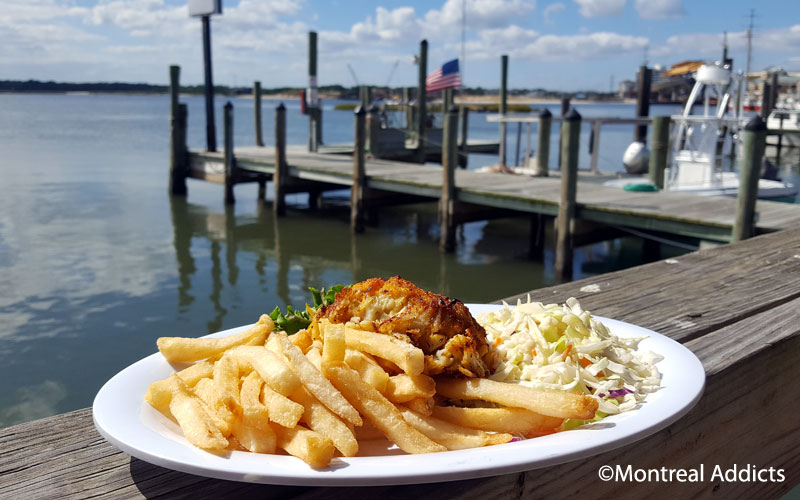 Dockside restaurant and marina Virginia Beach