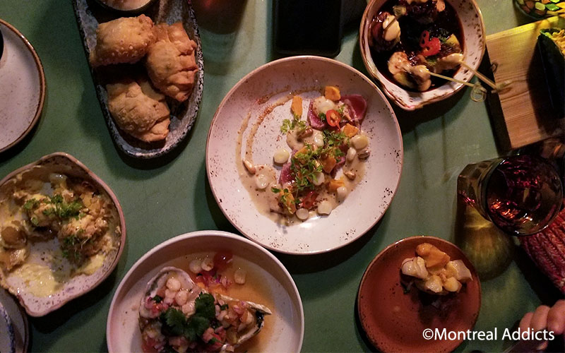 Restaurant Tiradito Montréal | Blog Montreal Addicts