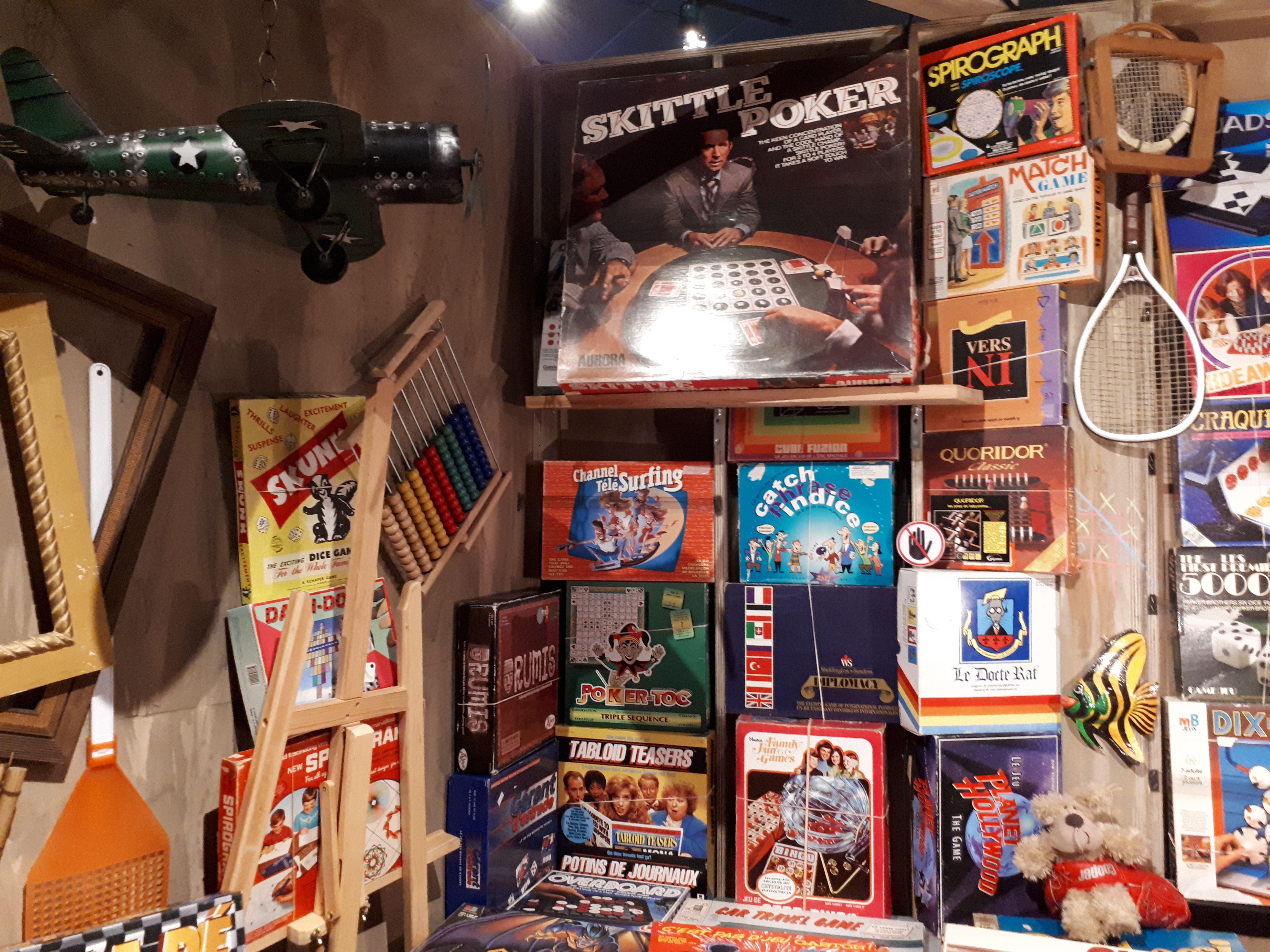 expo vieux jeux musée grevin montreal