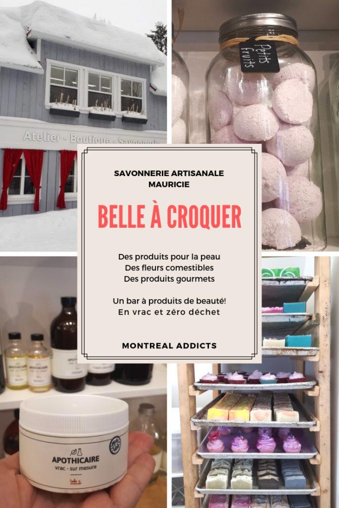 Belle à croquer - savonnerie artisanale - produits en vrac - zéro déchet - Mauricie