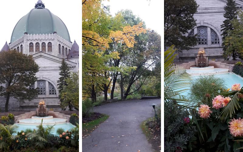Oratoire st-Joseph et jardin secret, parcs à Montréal et alentours