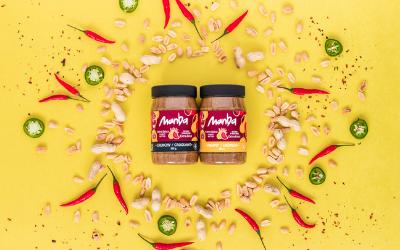 Manba, beurre de peanuts épicé fait à Montréal