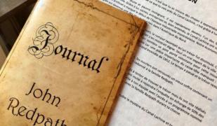 Journal de John Redpath pour jeu d'évasion au Canal Lachine