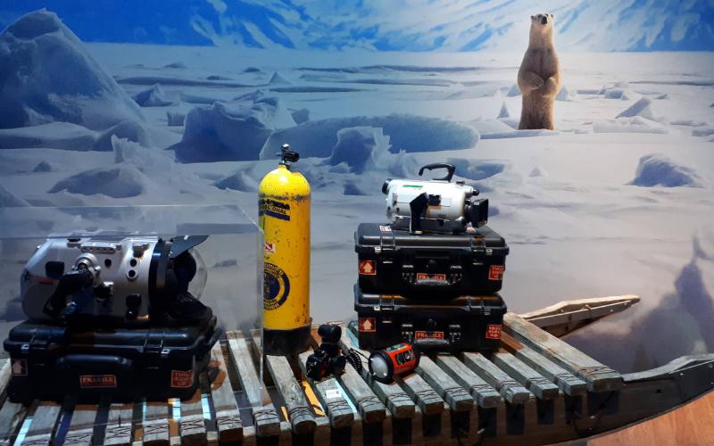 materiel expédition en zone arctique