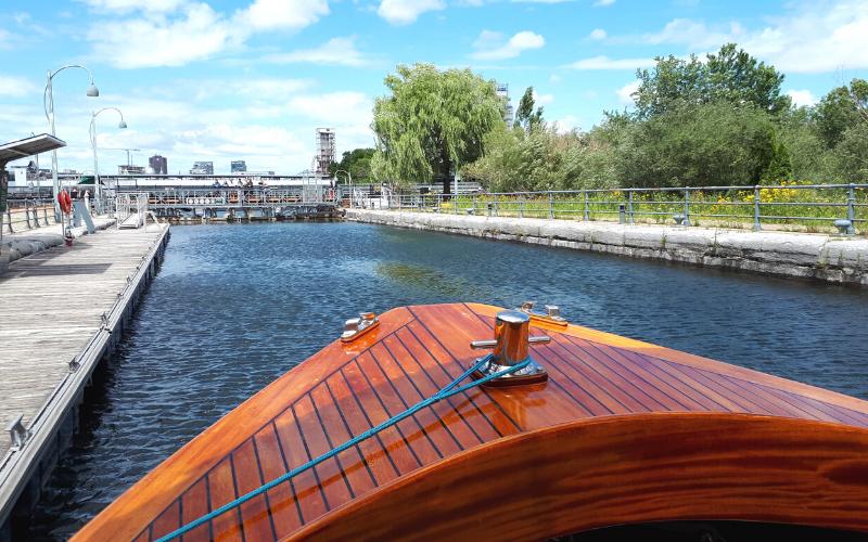 Écluse - Canal Lachine, balade en bateau