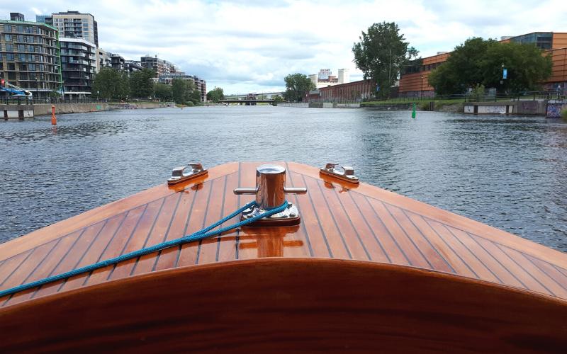 Canal Lachine, balade en bateau