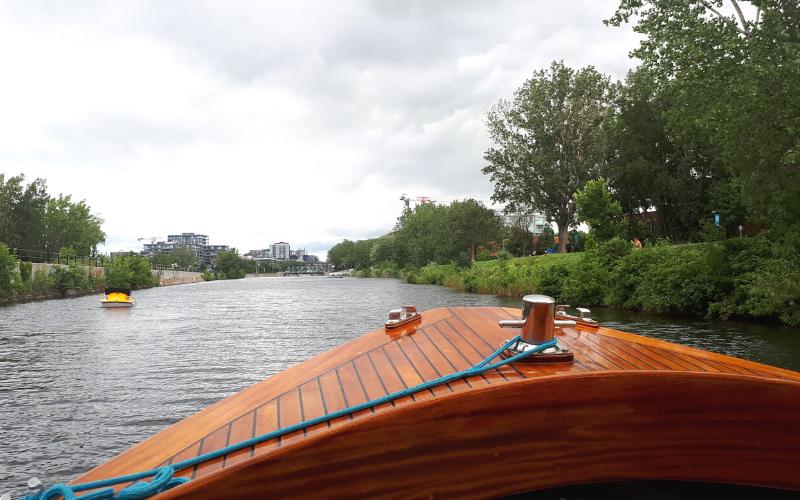 Balade en bateau Canal Lachine